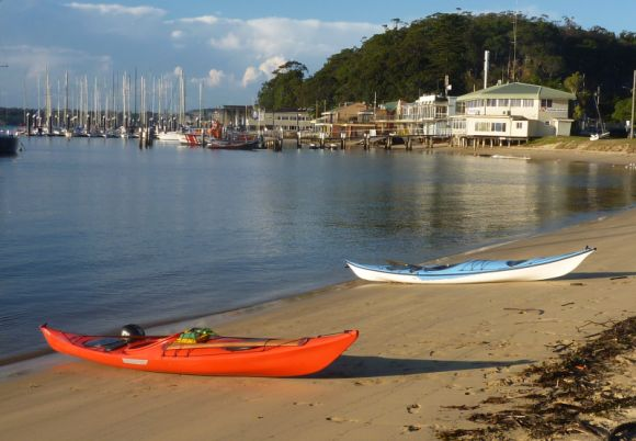 Paddle done, boats ready to be packed up. Lovely!
