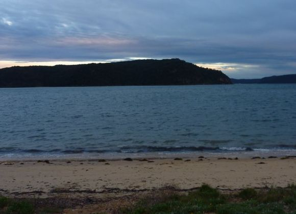 Pittwater. A little windy. A little wet. A little cold. And no-one cared. :)
