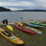 Different paddle craft prepare for Paddle for Pete