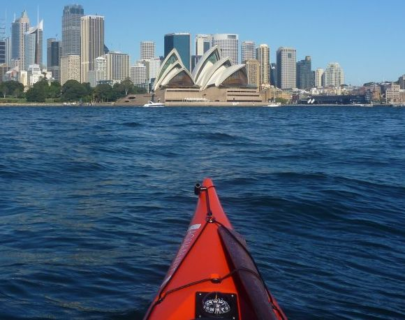 The iconic Sydney Opera House. As seen from the water!