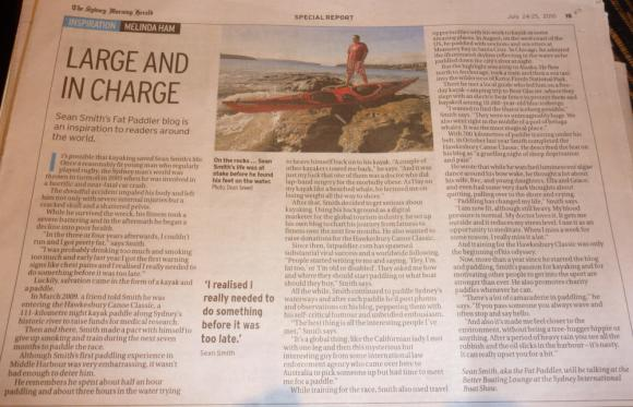 FP in the Sydney Morning Herald, Boat Show Edition.