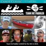 The motley crew of Team Fat Paddler for this year's Classic