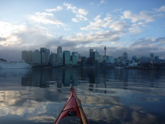 Reflections of the Sydney Skyline