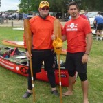 All set and ready to paddle. Bring on the start of HCC10!