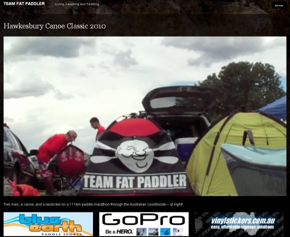 Team Fat Paddler does the Hawkesbury Classic on TeamFatPaddler.com