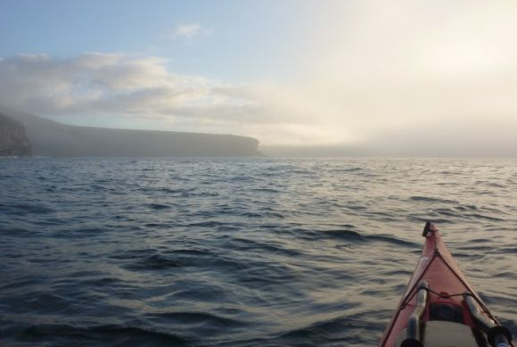 Looking for Manly through the fog. Beautiful! :)