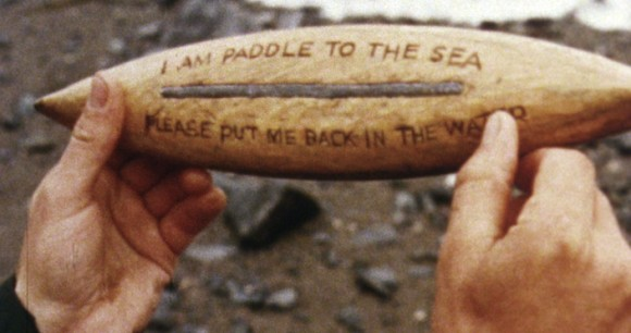 I am Paddle to the Sea - Please put me back in the water