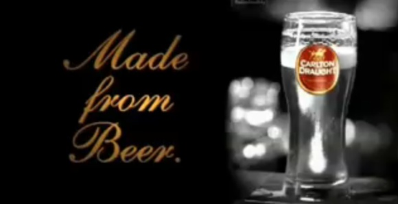 The 2nd Made from Beer ad by Carlton United Breweries