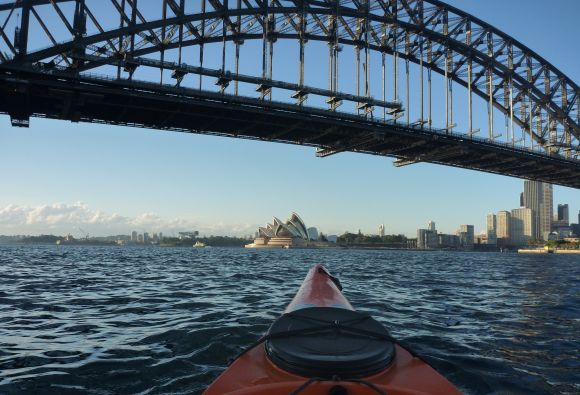 First visit to the Sydney Harbour Bridge