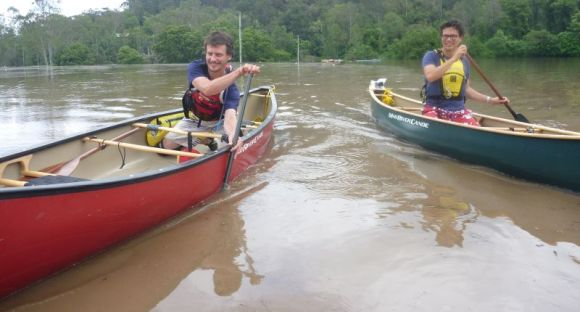Fun in open boats - you gotta love paddling!