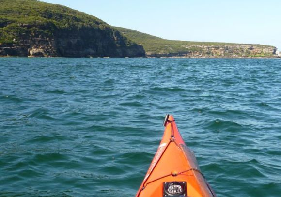 Grotto Reserve Cliffs - a fun playground for the intermediate paddler