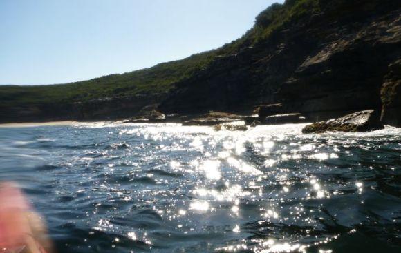 Sunshine and rocky cliffs. Much fun!