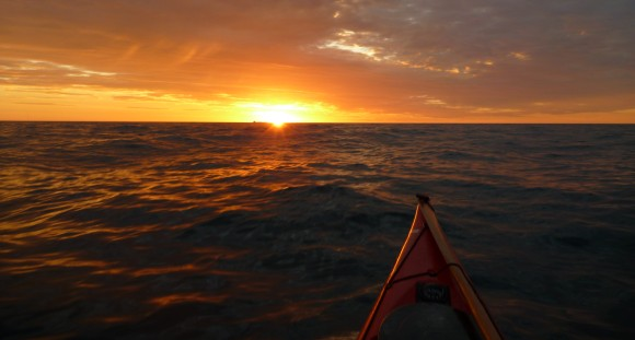 Sunrise from the sea..... could there be anything more magical?