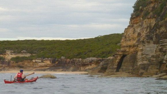 A very relaxing paddle past Grotto Point Reserve