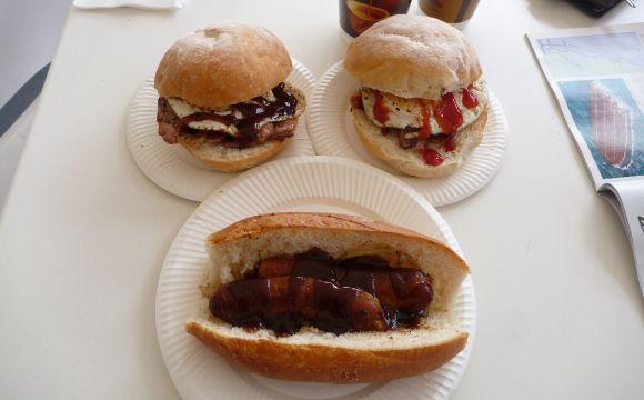 Breakfast for three please. Woohoo!
