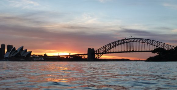 A Sydney Harbour sunset.... what an awesome city I live in!