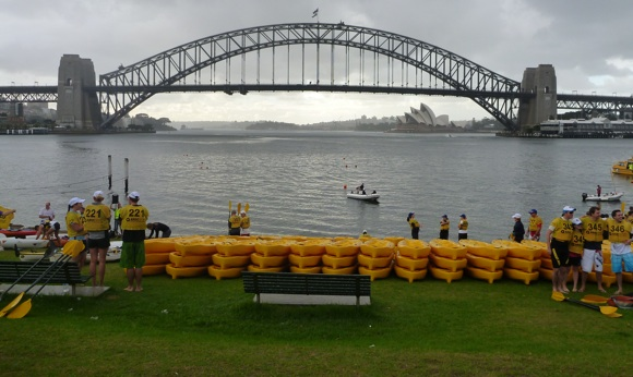 2011 Lifestart Kayak for Kids - not quite as sunny as last year