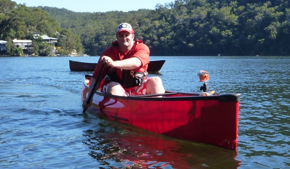 FP in the shiny new Wenonah Encounter at Berowra Waters