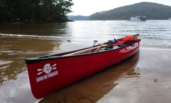 The great Hawkesbury River system - a beautiful place to train