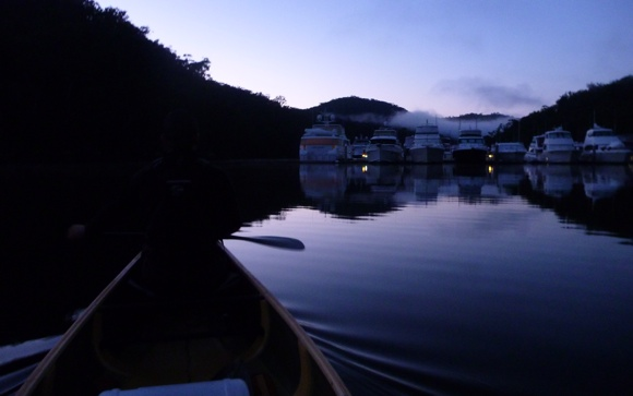 I'll never get sick of paddling at dawn. Simply stunning.