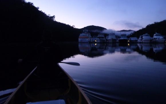 I'll never get sick of paddling at dawn. Simply stunning.