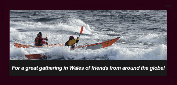 Paddlers gathering in Wales for some stormy paddling fun
