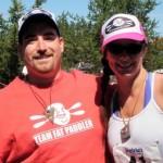 Team Fat Paddler representing in Ontario, Canada (MIDN Steve, MIDN Sammy)