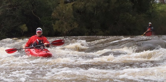 Running the river in my Remix after plenty of rain equals plenty of fun!