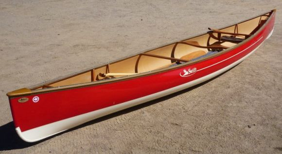 That Swift Keewaydin again. Such a beautiful canoe!