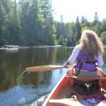 "Could there be a more beautiful place to paddle? I call it ""canoe nirvana""."