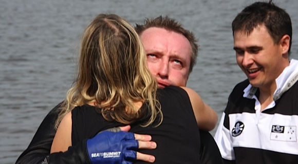How was that for you Grumm?? One very relieved paddler!