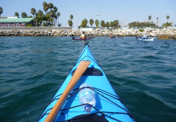 Back to the Redondo Beach marina under the hot LA sun.