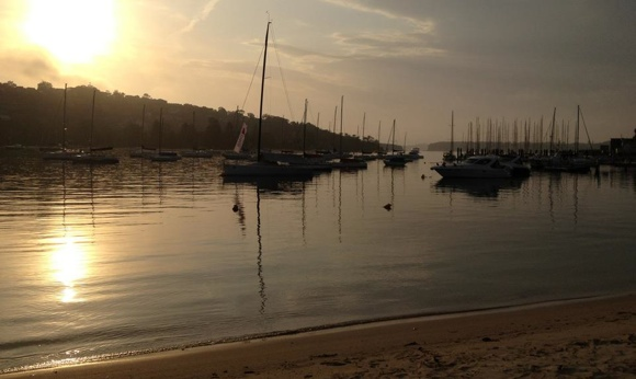 Early morning at The Spit, Mosman Sydney. Let the boat play begin!
