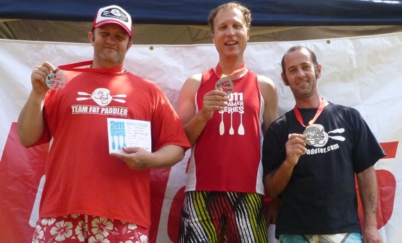 Team Fat Paddler.... I think they're going to need a bigger podium!