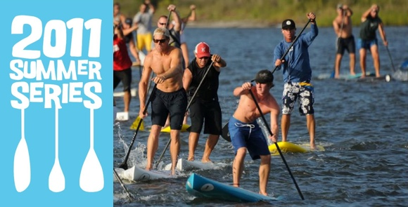 The 2011 Summer Series - a heap of fun for ski paddlers, kayakers and SUPs