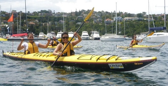 Kayaking is a great way to get your work colleagues outdoors for some fun