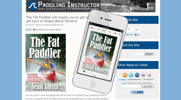 Paddling Instructor reviews The Fat Paddler, now available globally on iBookstore