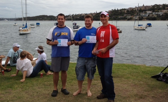 Lt Cmdr Nat got his first surf ski podium place as well. Congrats Nat!