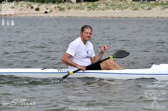 Malcolm from Carbonology Australia gave us all awesome on-water support and advice. Legend!