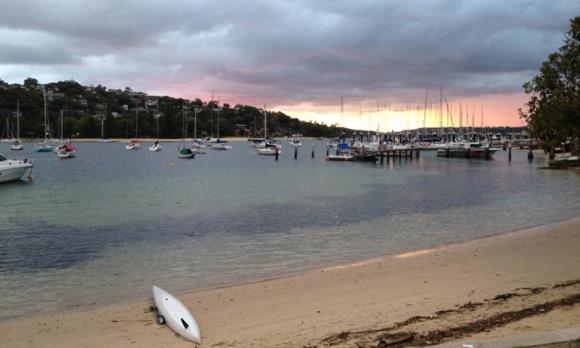 5.45am training start. Beautiful but ominous sunrise ahead of a storm.
