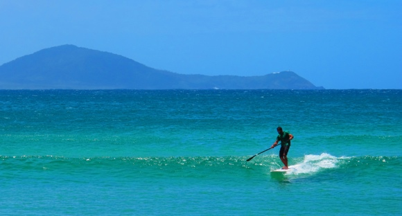 A SUP can give enjoyment on pretty much any wave, anywhere (Photo credit: P. Morgan)