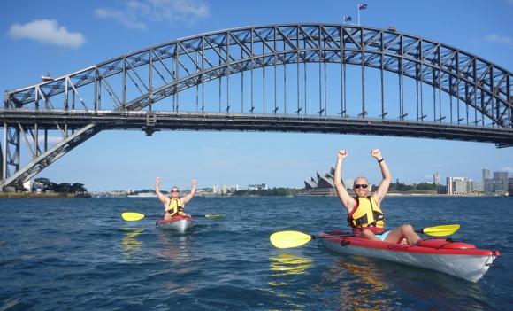 Sydney Harbour - could there be a better paddle race location?