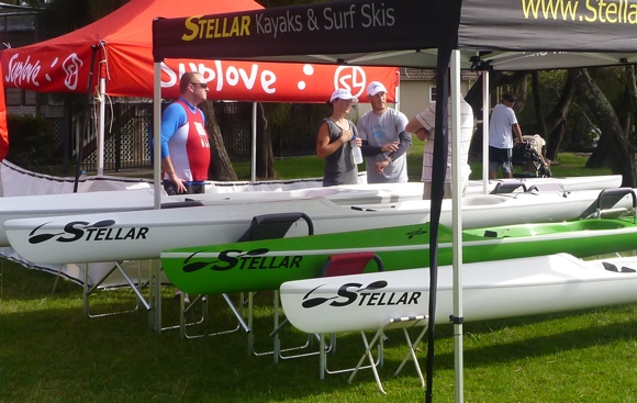 The Stellar range of surfskis at Pittwater. Great quality and performance.