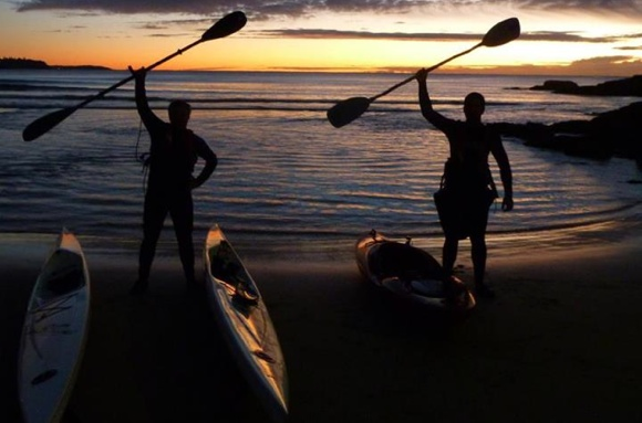 Team Fat Paddler Dawn Patrol - Manly Beach Australia