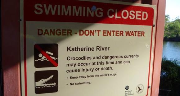Australia.... always watch where you swim