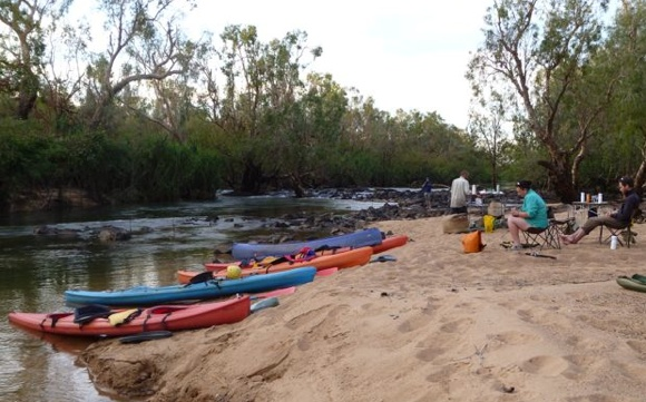 The first night's camp - Northern Territory Australia