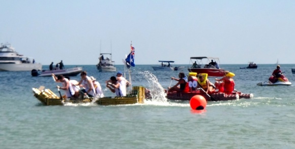 Let the competition begin at the Darwin Beer Can Regatta