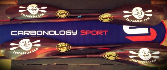 Secret weapons - Carbonology CS3 carbon wing paddles