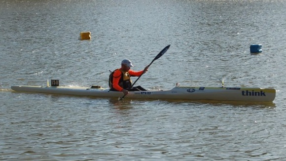 Nat looked great on his Evo surfski, and grabbed a brilliantly fast finish to silence his critics!