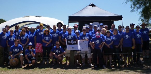 The 2012 Team Fat Paddler crew for the Hawkesbury Canoe Classic